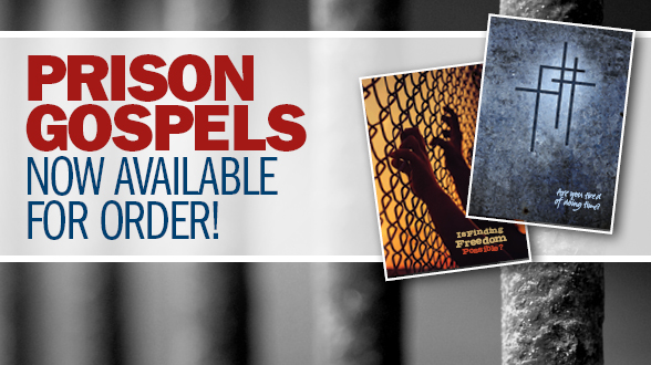 Help reach the incarcerated with new specially-bound Gospels of John!