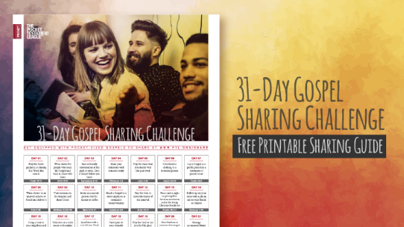 March is Sharing Month and it's not too late to join! Download the guide and start sharing today!