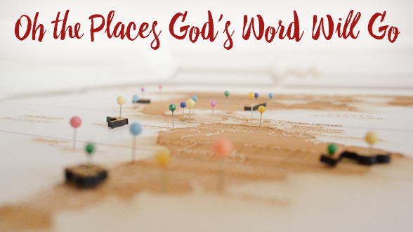 Summer vacations are upon us. Be ready to share with the person God places on your path!