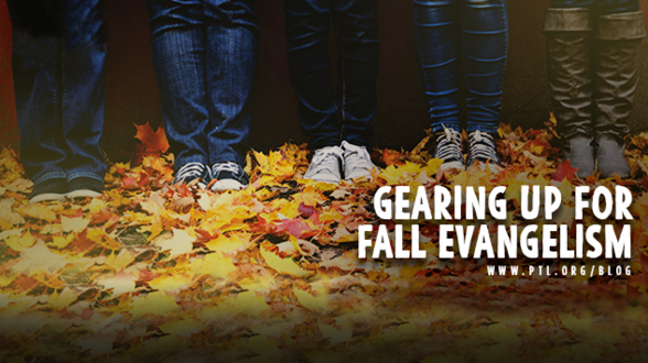Are you excited to spread the Good News of Christ this fall? Here are 4 ways to gear up for fall evangelism.