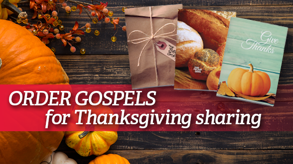 Order Gosepls for your Thanksgiving festivities or sponsor an order for your local food bank.