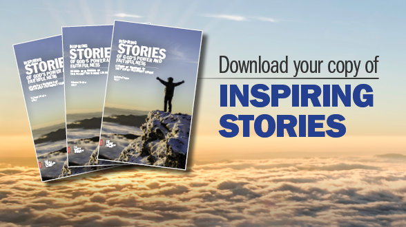 Read how God inspires Members everyday. Download your copy of Inspiring Stories for 2018!