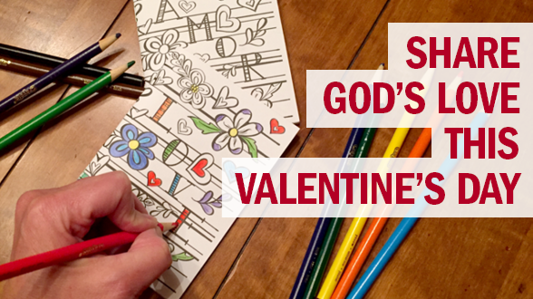 Share true love this Valentine's Day with our latest coloring book design in English and Spanish.