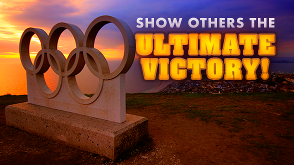 Join the conversation and bring real victory during the Olympics.  Learn more >>