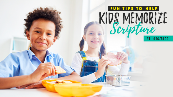 Kids can learn the Bible, no matter what age! Check our blog for fun tips to help kids memorize Scripture >>