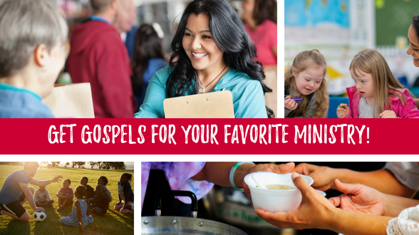 Could your favorite ministry use an extra supply of Gospels this summer? Tell us more!