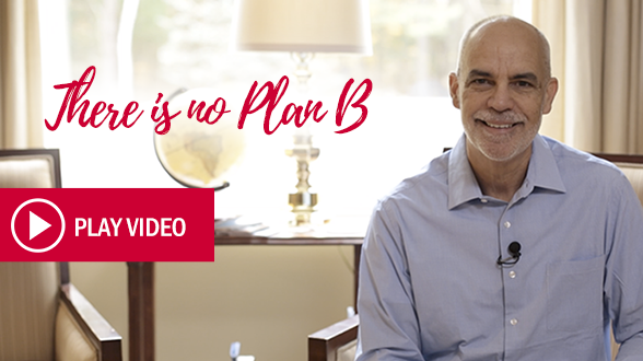 Christ entrusted you and me with the mission to share His love with the world, and in this special video, PTL CEO David Collum shares with you how there is no plan B.