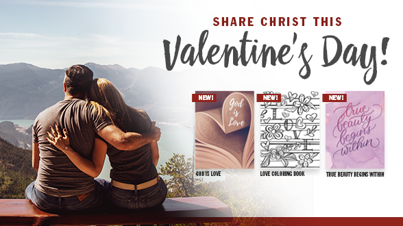 Order Gospels to share the God's love this Valentine's Day!