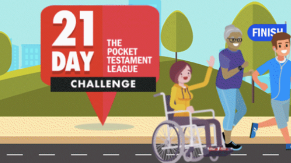 Join us for the first-ever 21 Day Challenge interactive virtual marathon!