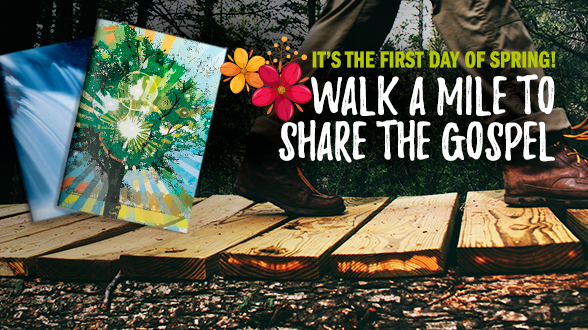 Join other League Members by walking a mile for the Gospel! Learn more >