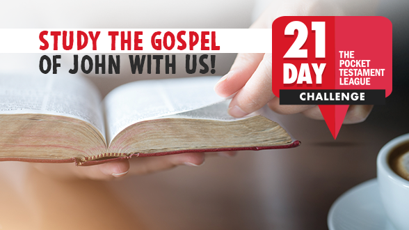 Join us for the NEW 21 Day Challenge Marathon through the Gospel of John!