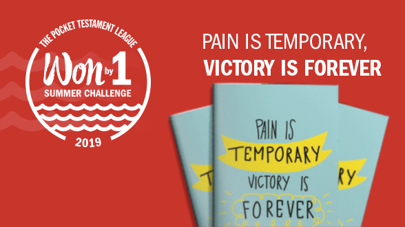 You can share the hope of salvation with our NEW Gospel called Pain Is Temporary, Victory Is Forever. Order a supply today!