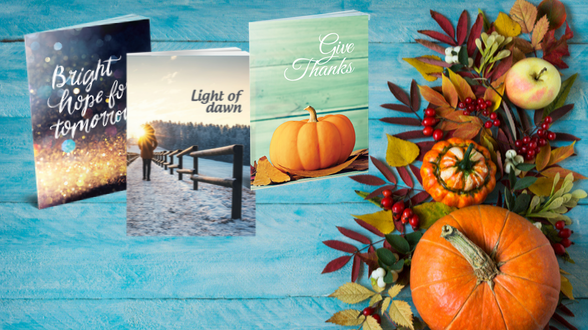 The holidays are just around the corner! Order your Holiday Gospel Kit today »