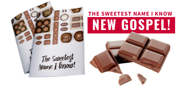 New Gospel Release: The Sweetest Name I Knowis customizable to your favorite Gospel translation. Order now!