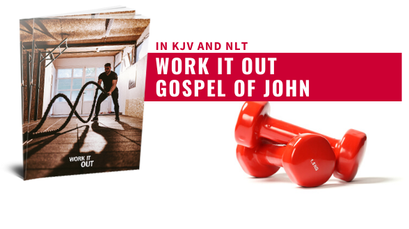 The NEW Work it Out Gospel is now available in the top 30 collection in KJV and NLT. Order now!