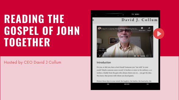 Join us and let's read the Gospel of John together!